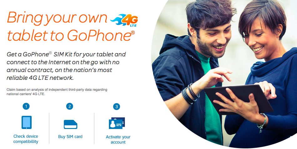 ATT GoPhone for  tablets (teaser 001)