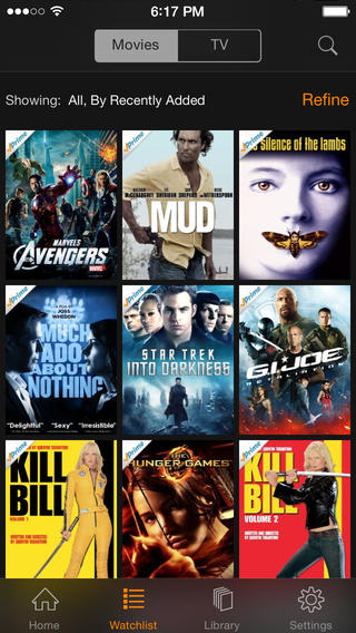 Amazon Instant Video 2.7 for iOS (iPhone screenshot 001)