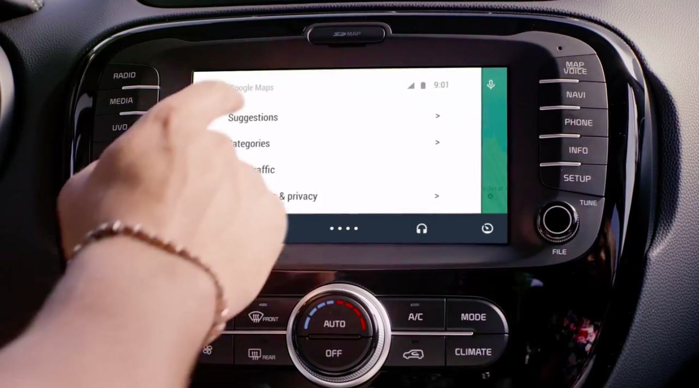 Android Auto (Google Maps 001)