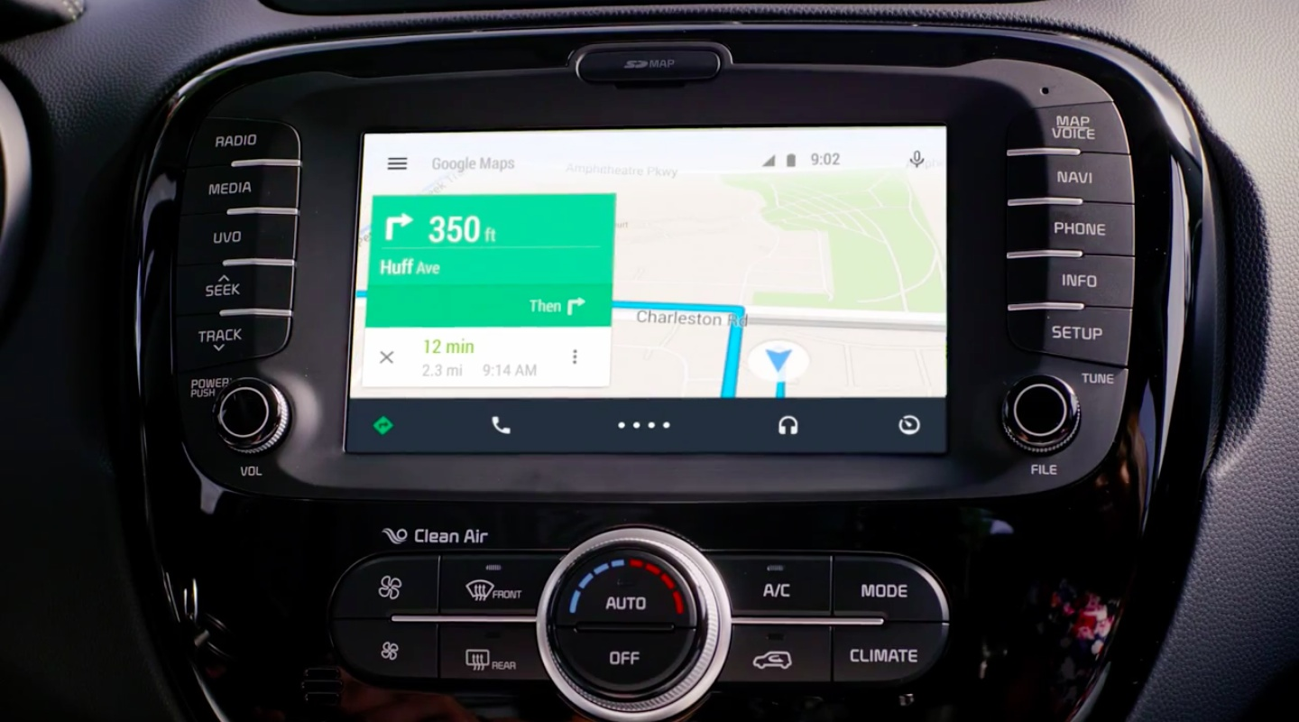 Android Auto (Google Maps 005)