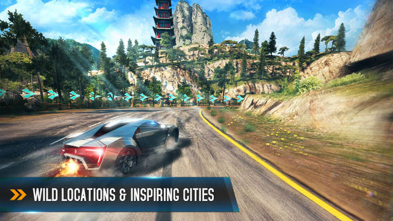 Asphalt 8 1.4 for iOS (iPad screenshot 001)