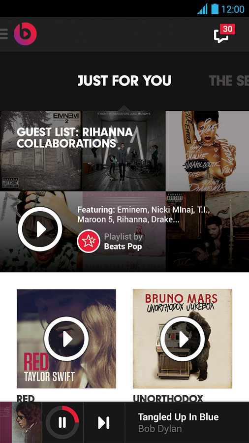 Beats Music 1.1 for Android (screenshot 002)
