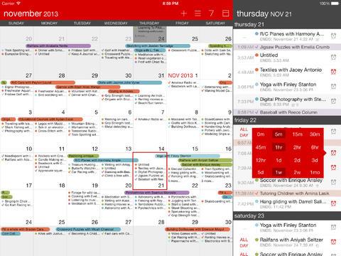 Calendario Calvetica