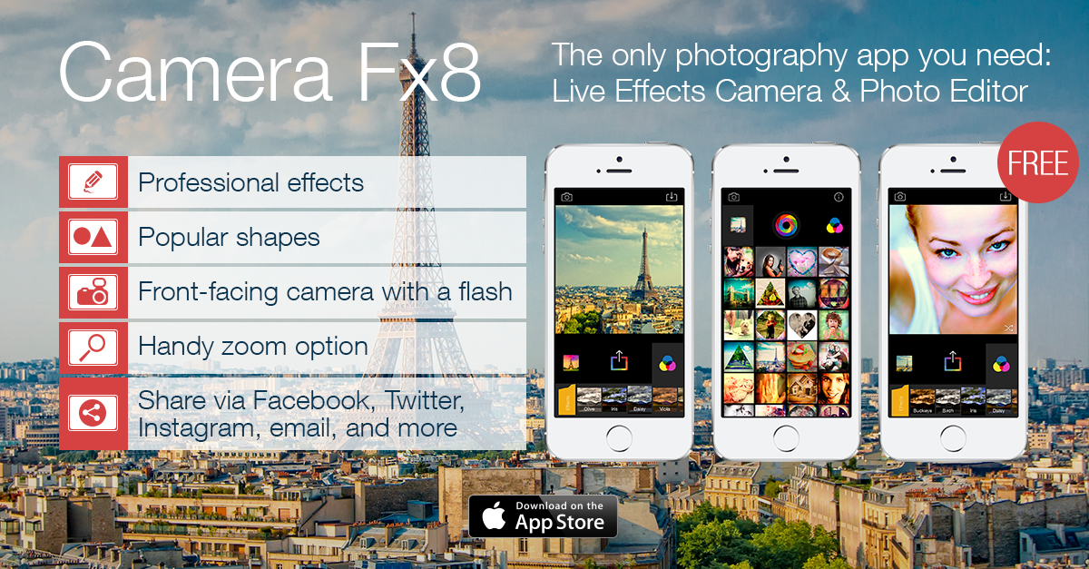 Camera Fx8 Free 1.0 for iOS (teaser 001)