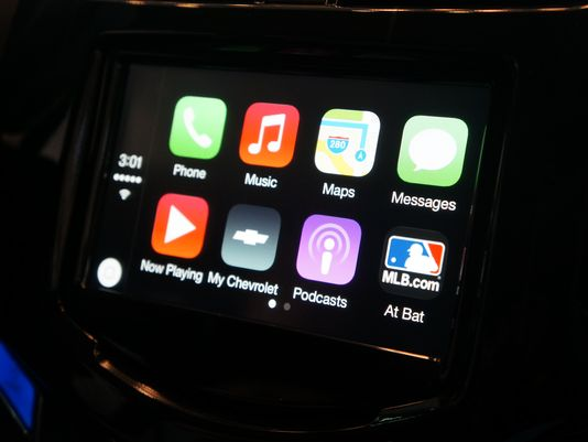 Chevy Spark (CarPlay demonstration 001)