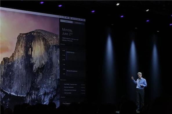 Craig Federighi WWDC 14