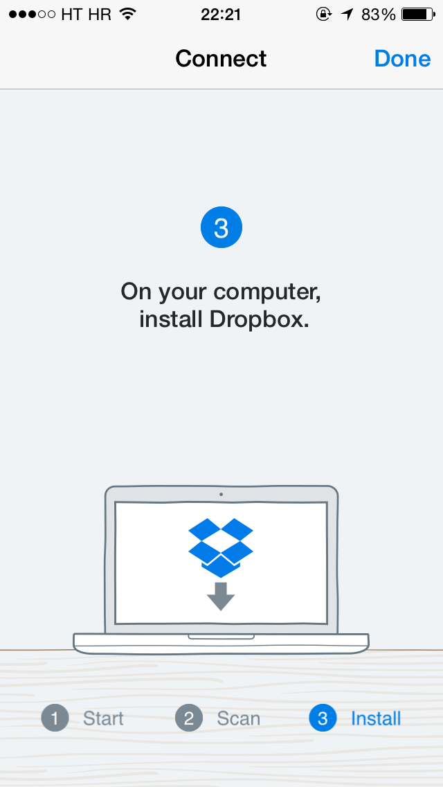 Dropbox 3.2 for iOS (iPhone screenshot 005)