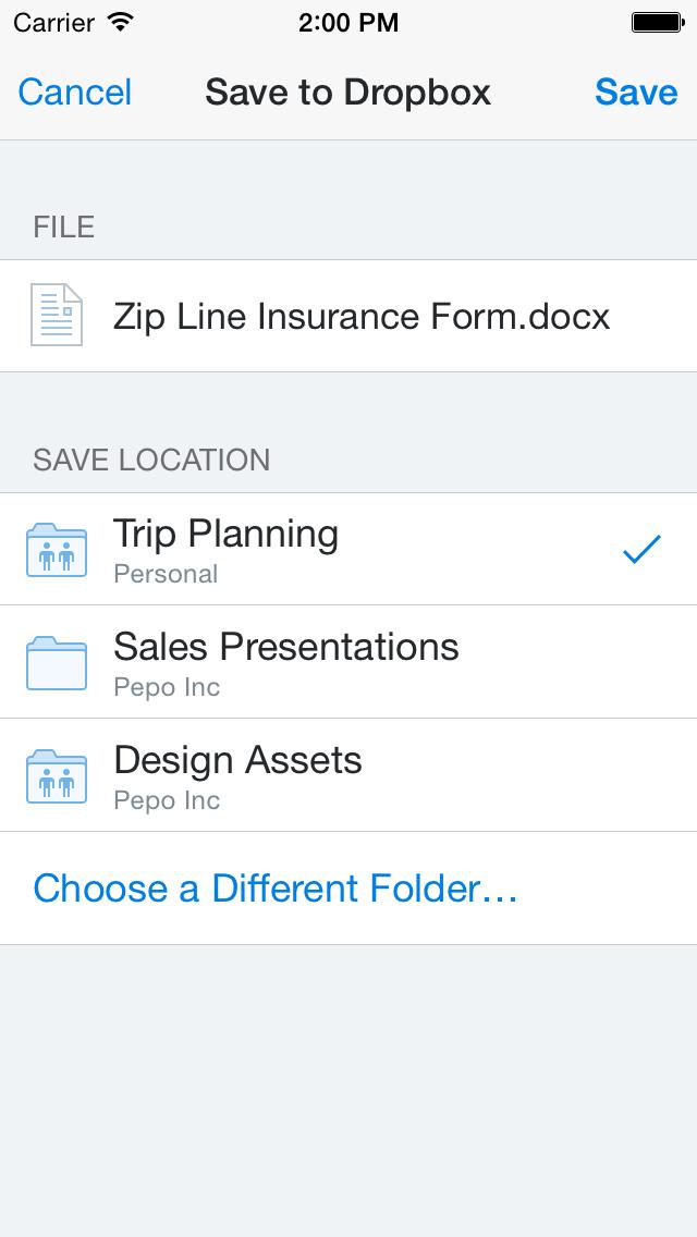 Dropbox 3.2 for iOS (iPhone screenshot 007)