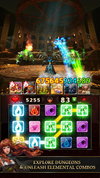 Dungeon Gems 1.0 for iOS (iPhone screenshot 002)