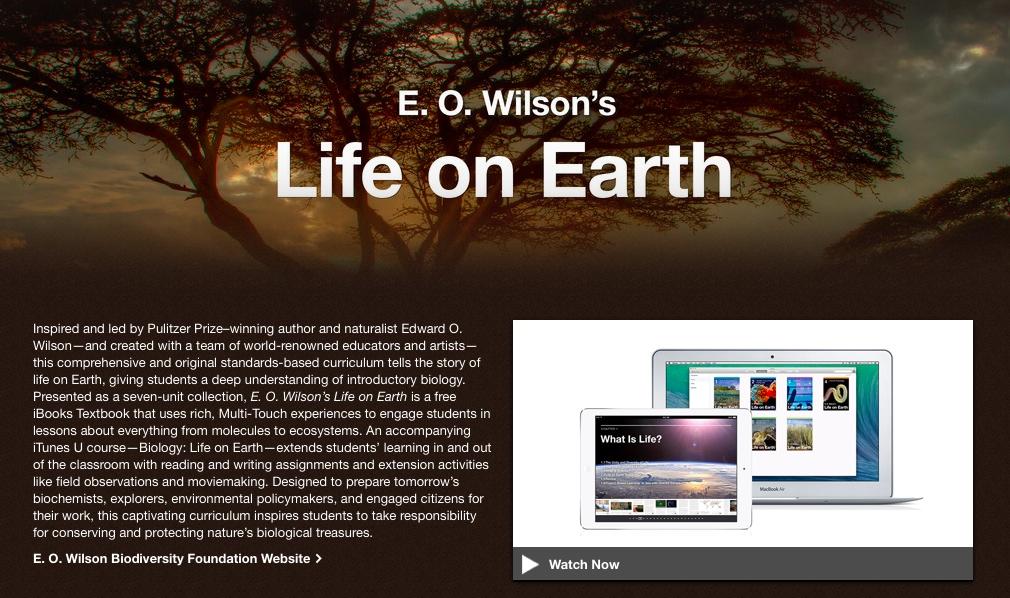 EO Wilson Life on Earth (teaser 001)