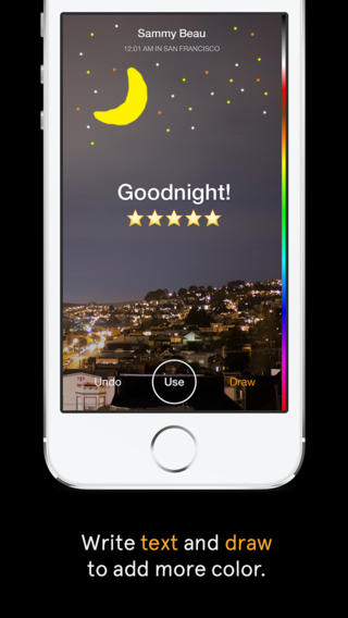 Facebook Slingshot 1.0 for iOS (iPhone screenshot 002)