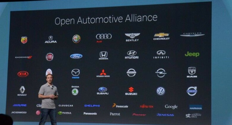 Google IO 2014 (Open Automotive Alliance partners 001)