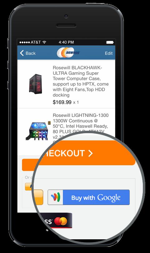 Google Instant Buy API (teaser 001)