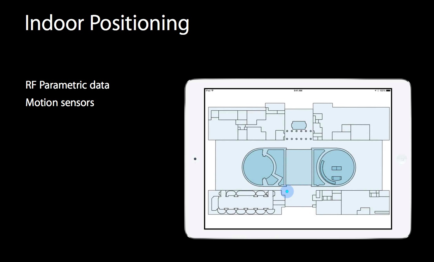IOS 8 (Indoor Positioning 001)