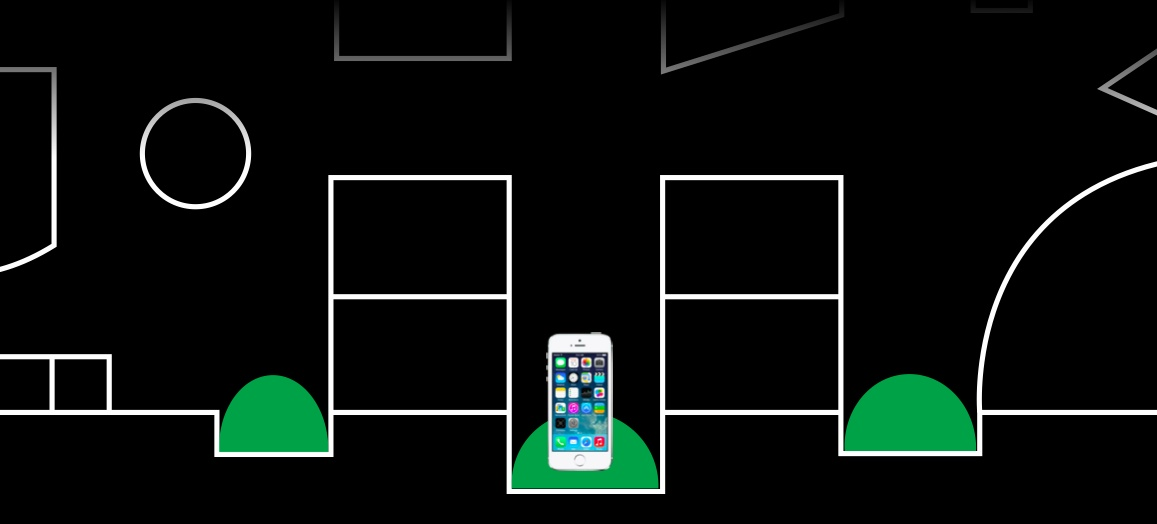 IOS 8 (Indoor Positioning teaser 001)