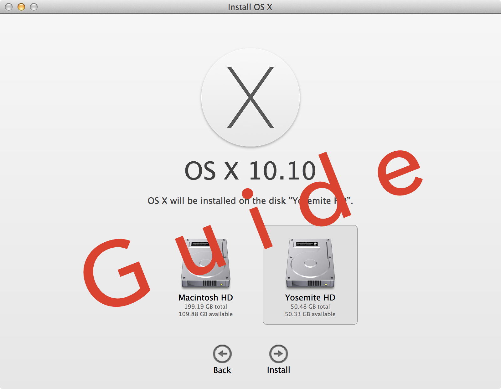 Install OS X Yosemite 10.10 Beta Guide Hero