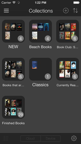Kindle 4.3 for iOS (iPhone screenshot 001)