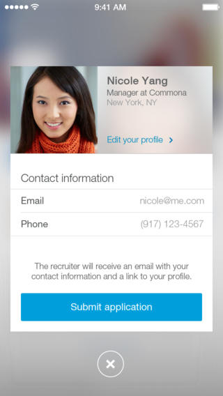 LinkedIn Job Search 1.0 for iOS (iPhone screenshot 004)