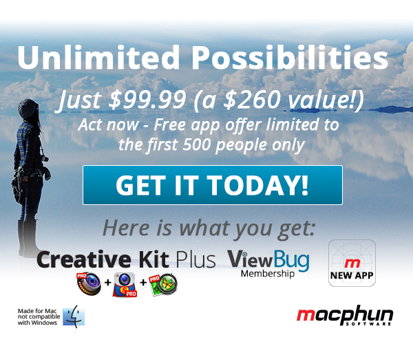 MacPhun Bundle (Creative Kit Plus and View Bug 001)