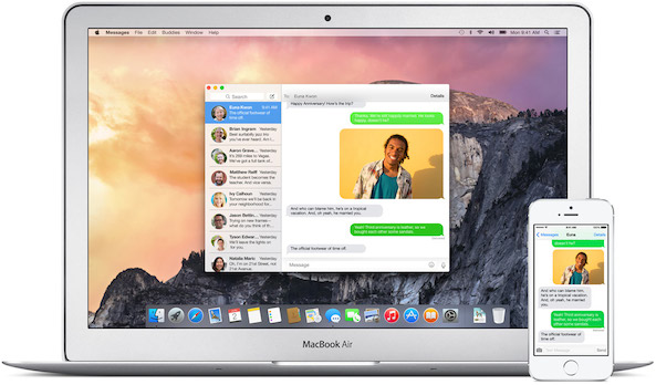 Messages for OS X Yosemite