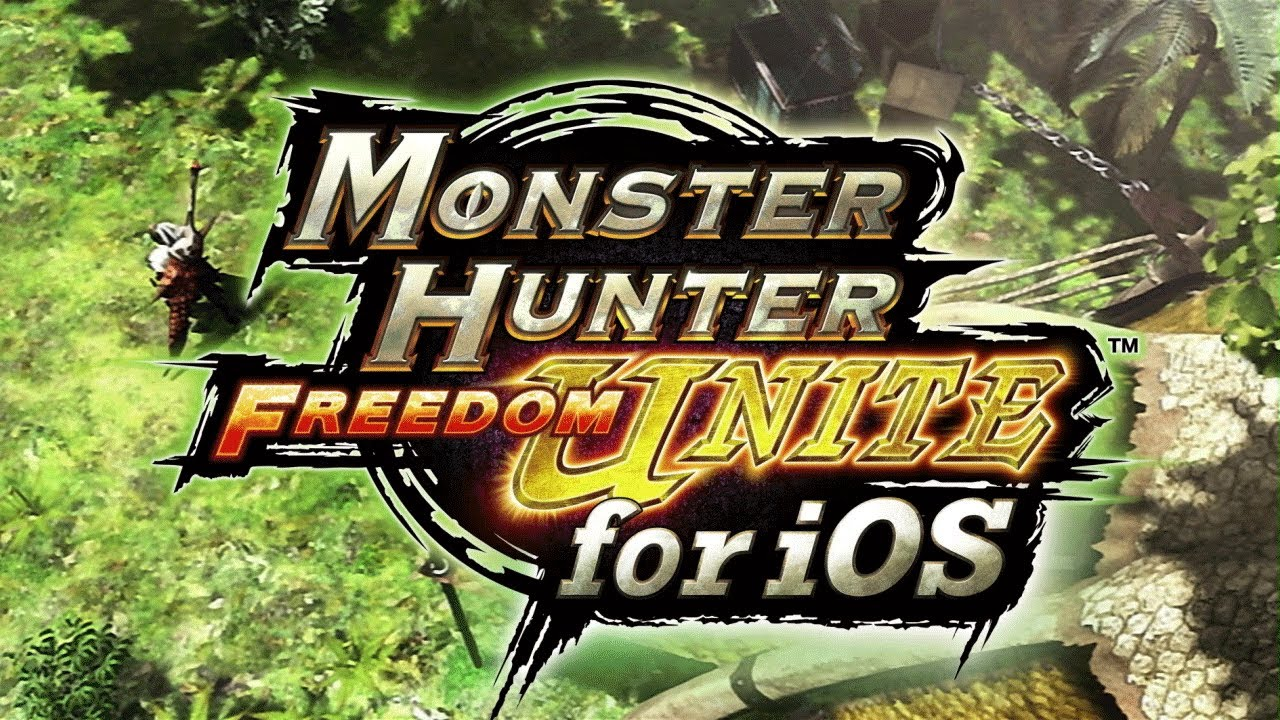 Monster Hunter Freedom Unite for iOS (teaser 001)