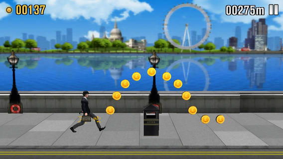 Monty Python The Ministry of Silly Walks 1.0 for iOS (iPhone screenshot 001)