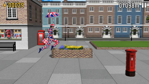 Monty Python The Ministry of Silly Walks 1.0 for iOS (iPhone screenshot 002)