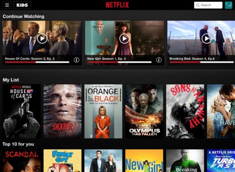 Netflix 6.0 for iOS (iPhone screenshot 003)