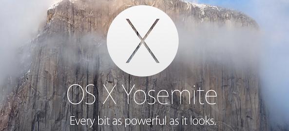 OS X Yosemite Banner