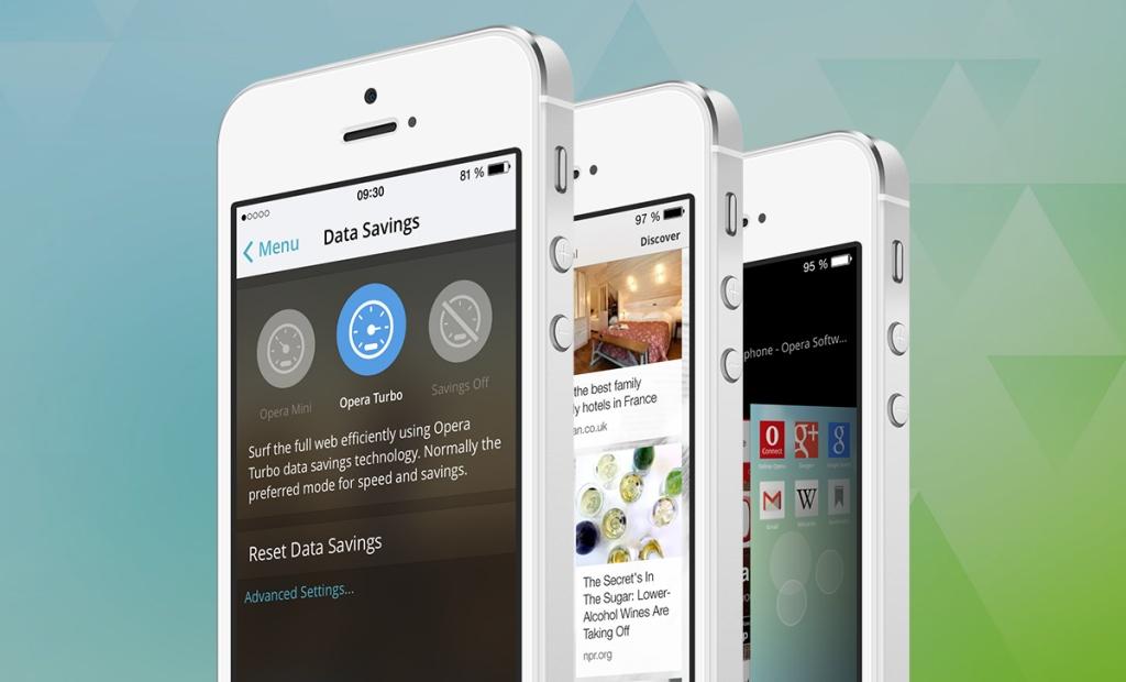 Opera Mini 8.0 for iOS (teaser 001)