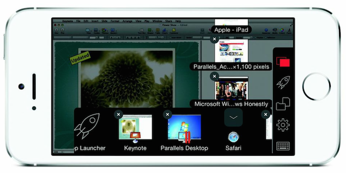 Parallels Access 2.0 for iOS (iPhone screenshot 002)