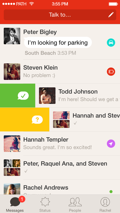 Path Talk 1.0 for iOS (iPhone screenshot 001)