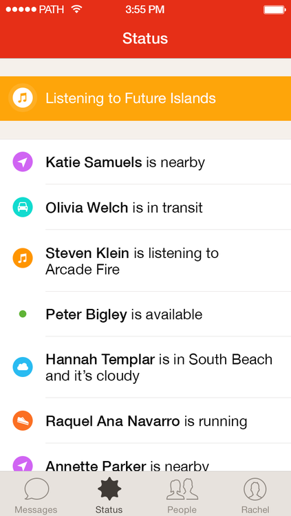 Path Talk 1.0 for iOS (iPhone screenshot 002)