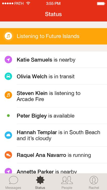 Path Talk 1.0 for iOS (iPhone screenshot 002)