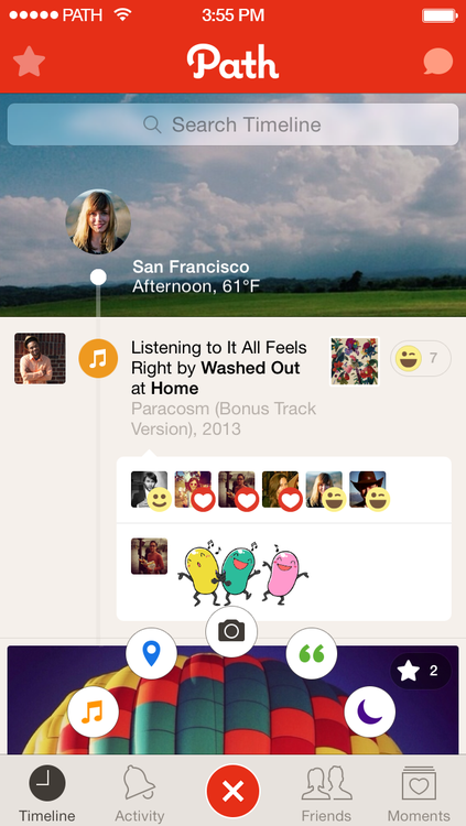 Path Talk 1.0 for iOS (iPhone screenshot 005)