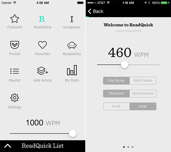 ReadQuick App