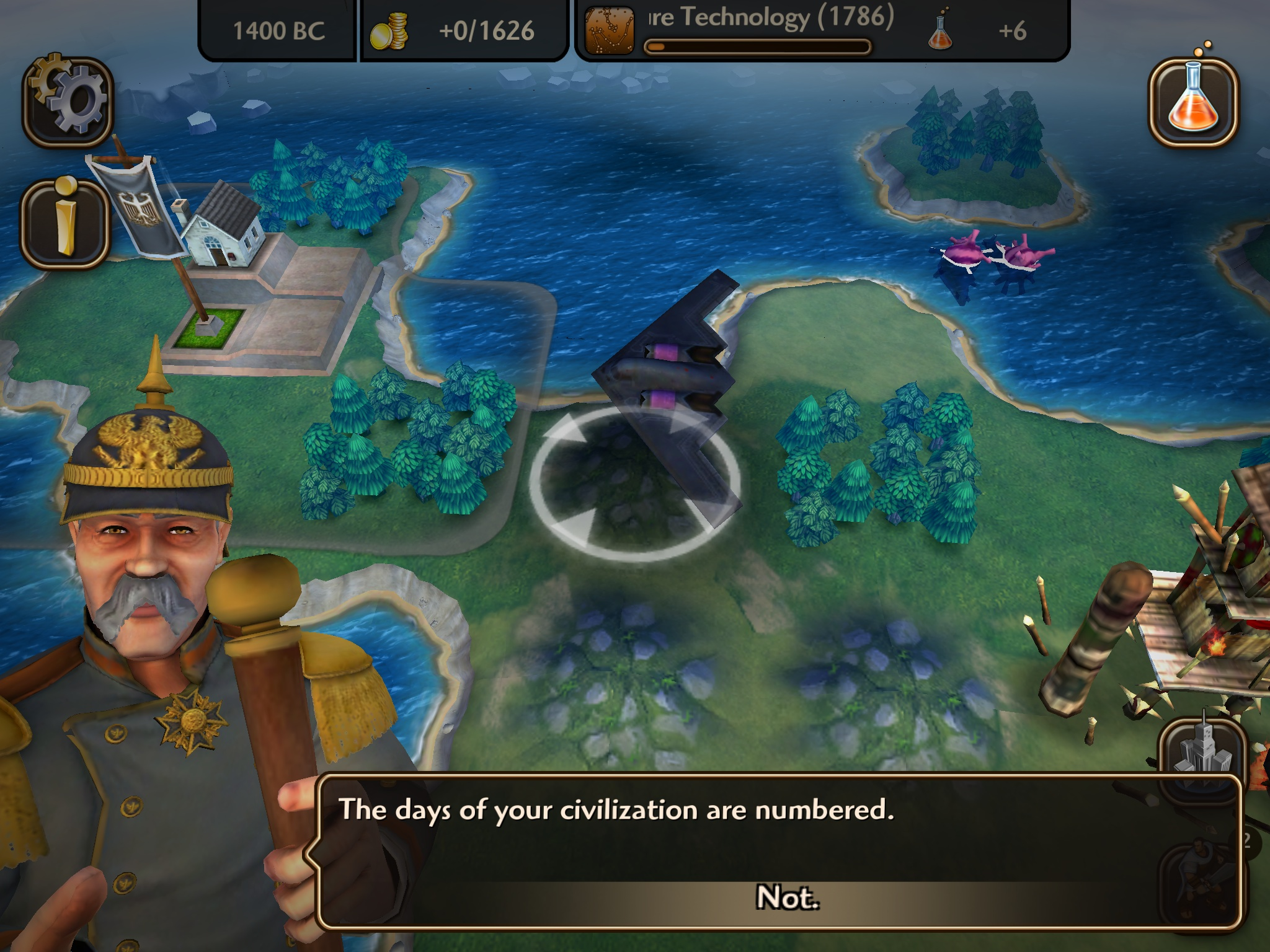 Sid Meier's Civilization Revolution 2 (screenshot 002)