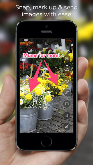 Skitch 3.2 for iOS (iPhone screenshot 001)
