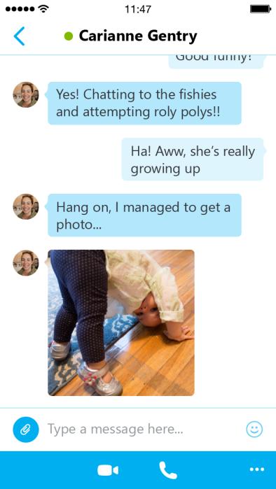 Skype 5.0 for iOS (iPhone screenshot 002)