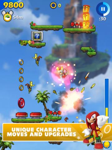 Sonic Jump Fever (iPhone screenshot 001)