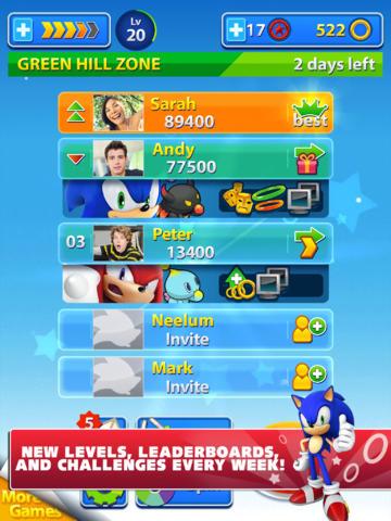 Sonic Jump Fever (iPhone screenshot 002)