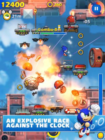 Sonic Jump Fever (iPhone screenshot 004)