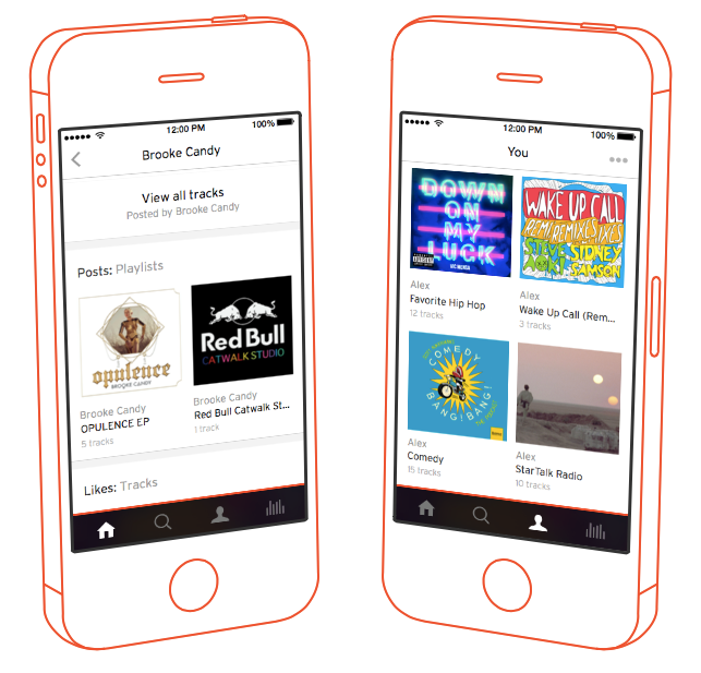 SoundCloud for iPhone receives stunning facelift, removes