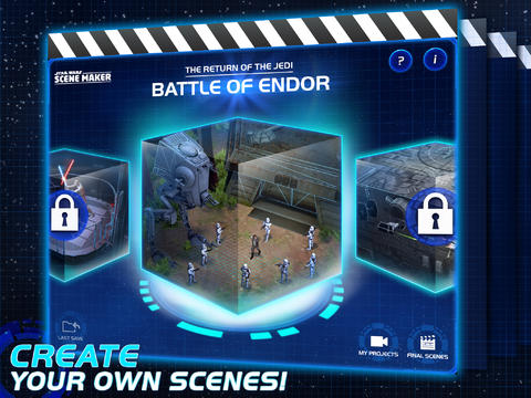 Star Wars Scene Maker 10 for iOS (iPad screenshot 001)