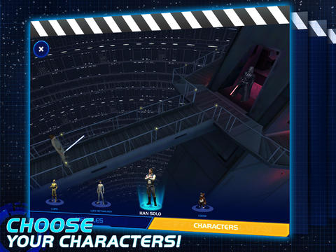 Star Wars Scene Maker 10 for iOS (iPad screenshot 002)