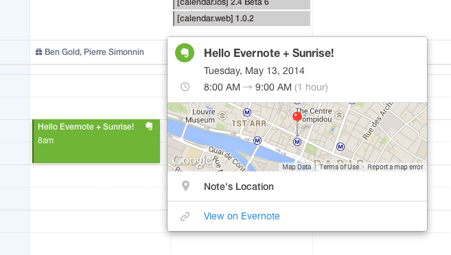 Sunrise 2.4 for iOS (apps 001)