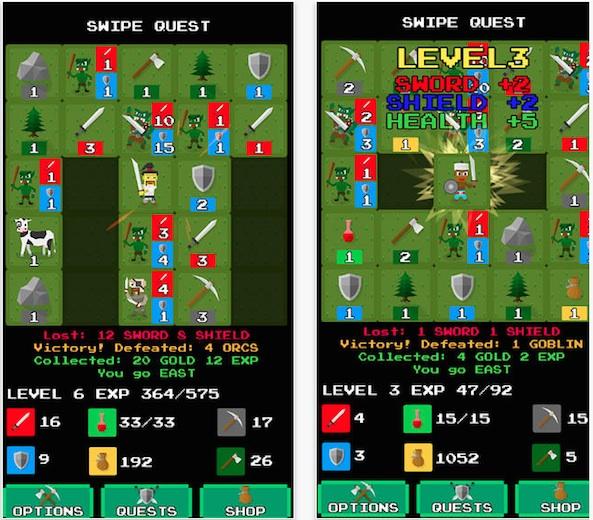 Swipe Quest 1