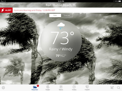 The Weather Channel 4.0 for iPad (Screenshot 003)