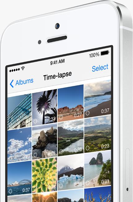 Time Lapse Videos iOS 8