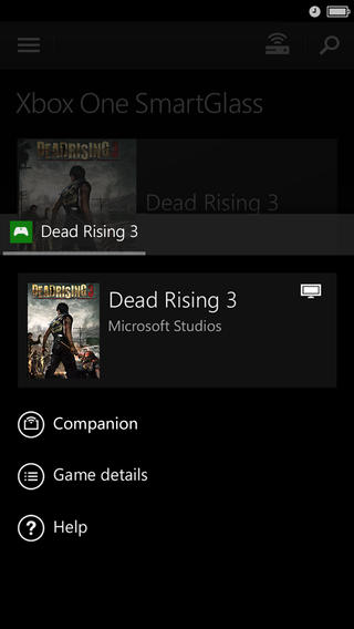 Xbox One SmartGlass 2.5 for iOS (iPhone screenshot 002)